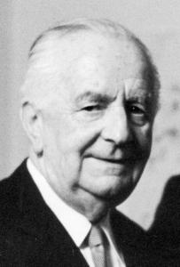 Dr. Joseph Drexel Im Jahr 1969. Bildquelle: Nürnberger Nachrichten / Friedl Ulrich