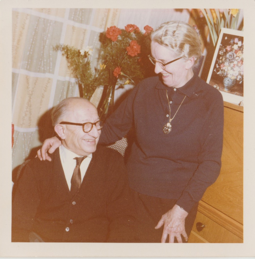 Karl and Emma Grönsfelder in 1962. With kind regards to Hans Steiger who provided the Photograph!